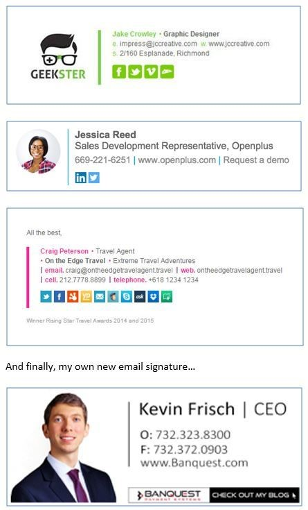 Check Your Email Signature (Part 2) – Banquest Payment Systems